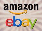 Ebay Amazon Logos